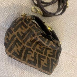 Vintage Fendi monogram mini bag